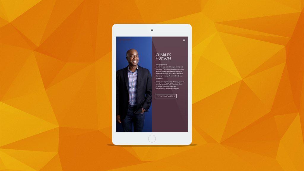 Precursor Ventures : Website